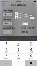 Lighting Beam Calculator